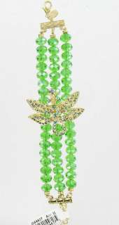 New Kirks Folly Dream of the Dragonfly Bracelet   Green