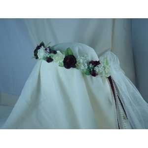 Flower Girl Wreath Bridal Headpiece Bridesmaid Natalie