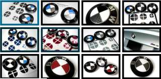 BMW EMBLEM hood ROUNDEL DECAL vinyl sticker COVER KIT