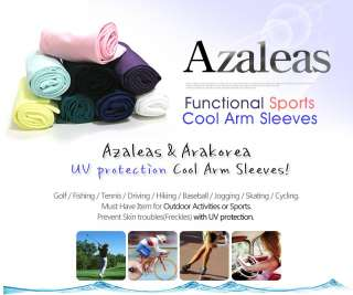 1Pairs New Premium Azaleas Cool Arm Sleeves (11colors)