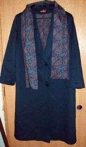 Alorna Forstmann Wool Ladies Petite Coat Dark Green BIN