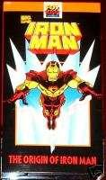 ORIGIN IRON MAN 1 FOX KIDS VIDEO VHS RARE NEW MOVIE MNT