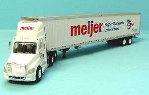 MEIJER FREIGHTLINER SEMI TRACTOR TRAILER TRUCK TRAIN LAYOUT
