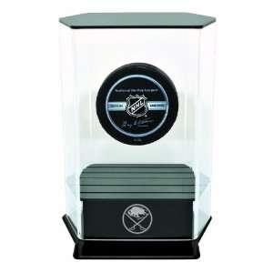 NHL Buffalo Sabres Floating Hockey Puck Display Sports