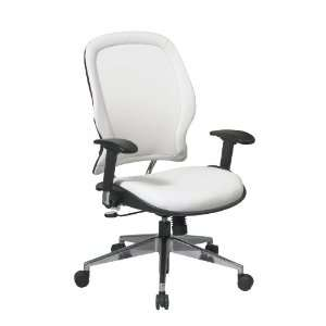 OSP Vinyl Managers Chair with Chrome Finish Metal Base and