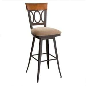 America 26 Cindy Upholstered Swivel Bar Stool Backrest