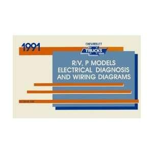1991 CHEVROLET R V P TRUCK Wiring Diagrams Schematics Automotive