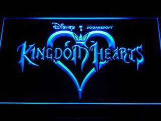 e039 b Kingdom Hearts Sora Video Games Neon Light Sign Gift