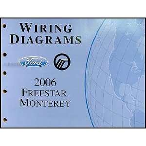 2006 Ford Freestar & Mercury Monterey Wiring Diagram