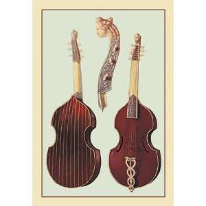 : Buyenlarge 16529 4P2030 Viola da Gamba 20x30 poster: Home & Kitchen