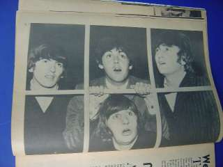 Vintage Teen Magazine Beatles Biography Yesterday Today 1975 Paul