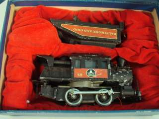 Train RR Railroad Camel Back 0 4 0 GHC Baltimore And Ohio +Box