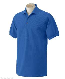 New Gildan Mens Pique Polo Sport Shirt Pick Color/Size