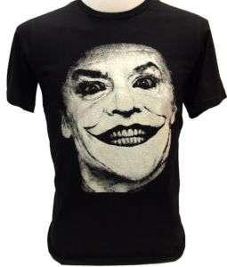JOKER Jack Nicholson 80s Classic VTG BATMAN T Shirt L