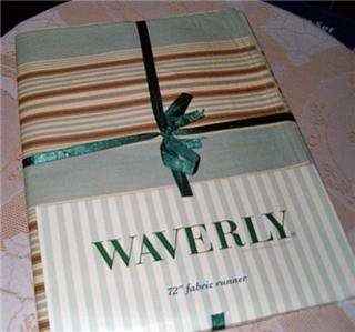 Waverly Table Runner Metropolitan Stripe NEW