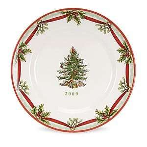 Spode Christmas Tree 2009 Annual Collector Plate 7.5