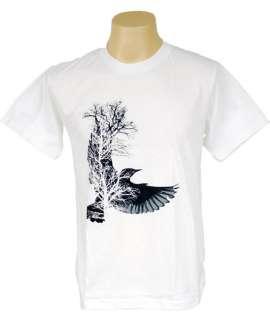 Fashion Tree New Bird Indie T Shirt banksy Graffiti XL