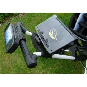 Golf Cart or Trolley Mount with Waterproof Case for the HTC Google G1