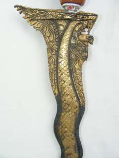 KERIS MADURA EXCEPTIONAL CARVING View To Appreciate This WEAPON KNIFE