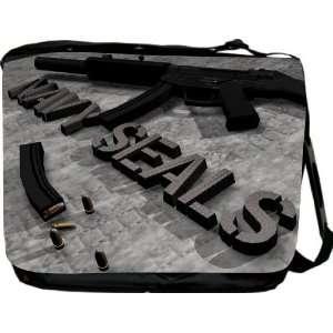 Navy Seals Design Messenger Bag   Book Bag   School Bag