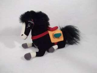 Disney Mulan KHAN 6 horse plush toy bean bag