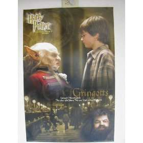 Harry Potter Gringotts Poster 23 Inches By 35 Inches: Home