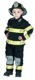 Firefighter Fireman Halloween Costume Helmet Outfit New