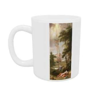 canvas) by Sir James Thornhill   Mug   Standard Size: Home & Kitchen