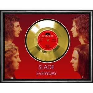 Slade Everyday Framed Gold Record A3 Musical