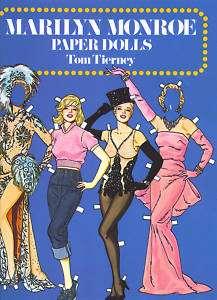 Marilyn Monroe Book of Paper Dolls(31 Movie Costumes)