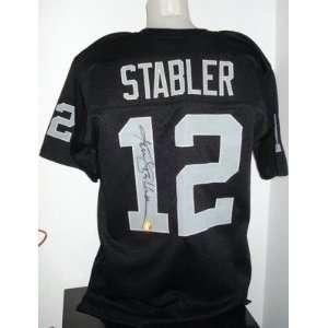 Ken Stabler Signed Uniform   Autographed NFL Jerseys
