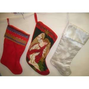 HOLIDAY CHRISTMAS HANDMADE STOCKINGS HATS ORNAMENTS & CLOTH BOOKS HOME