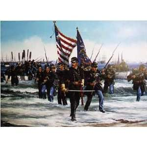 John Paul Strain   Landing at Fort Fisher