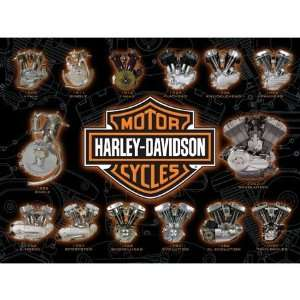 Harley Davidson Engine Power Jigsaw Puzzle 1000pc Toys