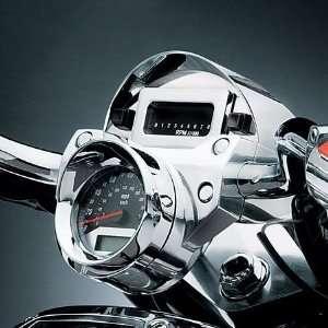 4015 Chrome Speedometer/Tach Visor For Harley Davidson Automotive