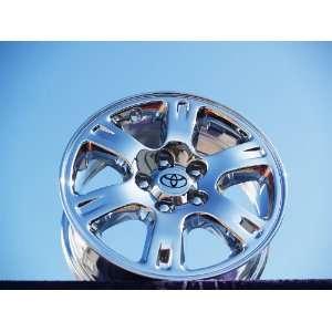 Highlander Set of 4 genuine factory 16inch chrome wheels Automotive