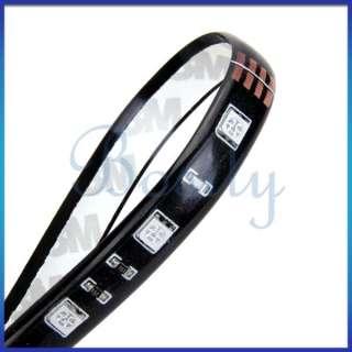 Waterproof 30cm Flexible Color Chang RGB Ribbon LED Light Strip 12V