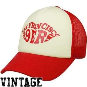 San Francisco 49ers Womens Hat Foam Trucker Hat