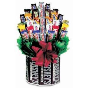 For The Love Of Chocolate Candy Bouquet Grocery & Gourmet Food