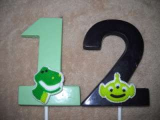 Chocolate Icing Decoration Toy Story Chocolate Molded Number