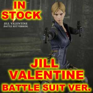 12 JILL VALENTINE BATTLE SUIT HOT TOYS FIGURE