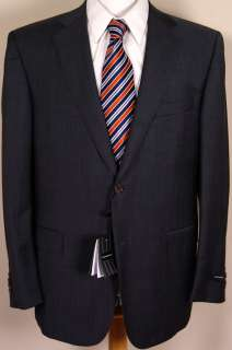 ZEGNA SUIT $2995 DARK GRAY 2BTN WOOL/SILK TRAVELLER MICRONSPHERE SUIT
