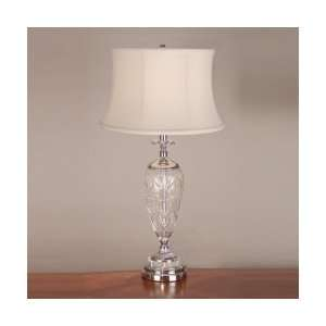 Dale Tiffany GT701229 Vallejo Table Lamp, Polished Chrome