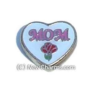 Mom Floating Locket Charm Jewelry