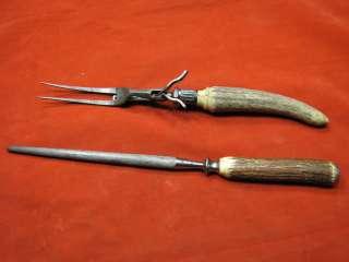 Vintage Harrison Bros & Howson Fork & Sharpen Steel