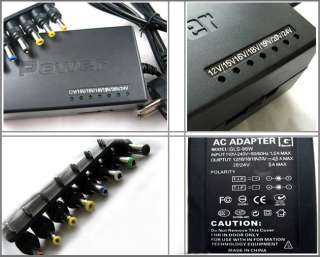 96W Universal Laptop Charger Notebook Power adapter  HP/DELL/IBM