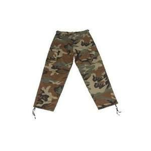 Authentic 100% BDU Pants Military Camouflage Pants Size 38