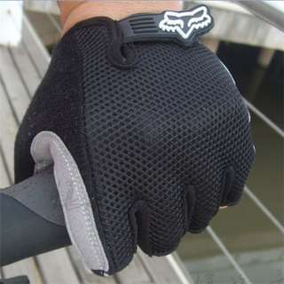 2011 NEW Cycling Bike Bicycle Half Finger Gloves BLACK