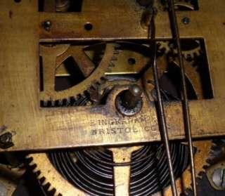 Ingraham 1885 8 Day Dew Drop Wall Regulator
