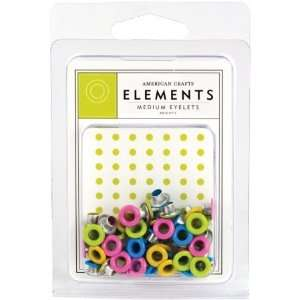 American Crafts MEDE 85468 Medium Eyelet Assortment 4